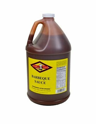 1 Gallon BBQ Sauce Jar
