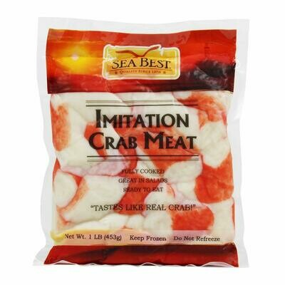 Imitation Golden Sun Crab Flakes Imitation - Case 30 x 1 lb