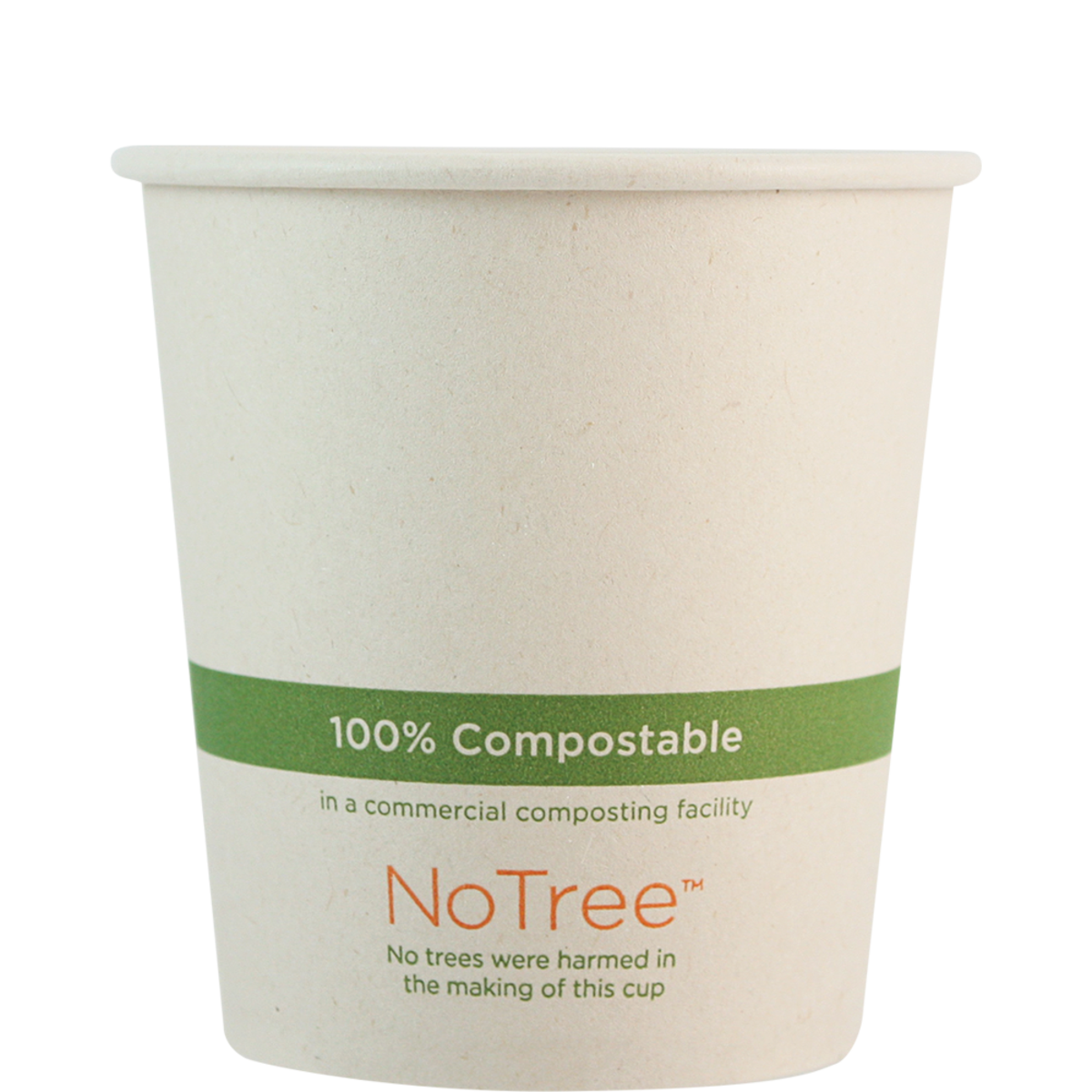 Case of 1000 Units or Pack of 50 Units of Paper Hot Cup NoTree 12 oz