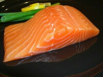 Fresh/Frozen US Wildcaught Salmon 6oz fillet Triar