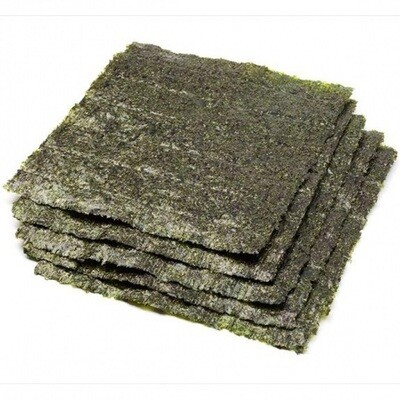 Sushi Nori Full Green Seaweed - case 500ct