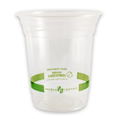 Case of 1000 Clear Cups 14 oz