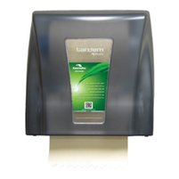 Cascades Tandem Mech No Touch Towel Dispenser Gray