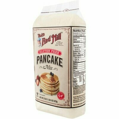 Case of 4 x 22 oz Pancake Mix GF Bob's Red Mill