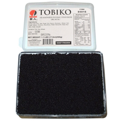 Tobiko Black - Pack 1.1 lb