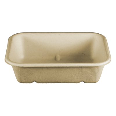 Case of 600 Plant Fiber Trays 20 oz