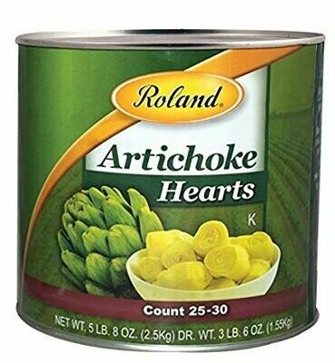 Artichoke Hearts - #10 Can of 2.5 kg
