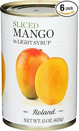 Mango Sliced - 12 x 15oz