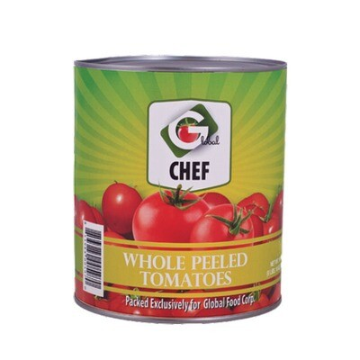 Tomato Whole Peeled in Juice - #10 Can of 3.01 kg