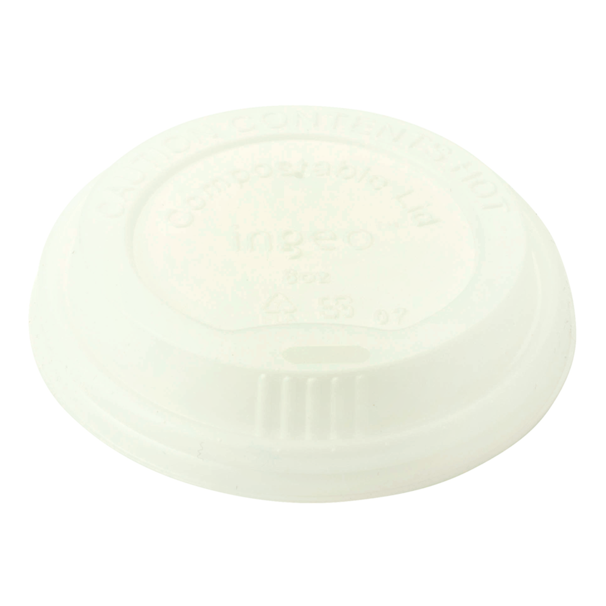 Case of 1000 Units or Pack of 50 Units of 10-20 oz Hot Cup Lids