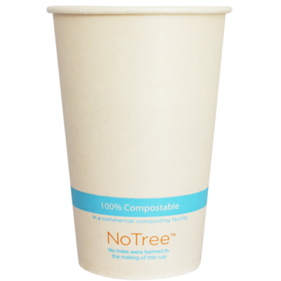 Case of 1000 Units or Pack of 50 Units Of Paper Cold Cups NOTREE 16 Oz
