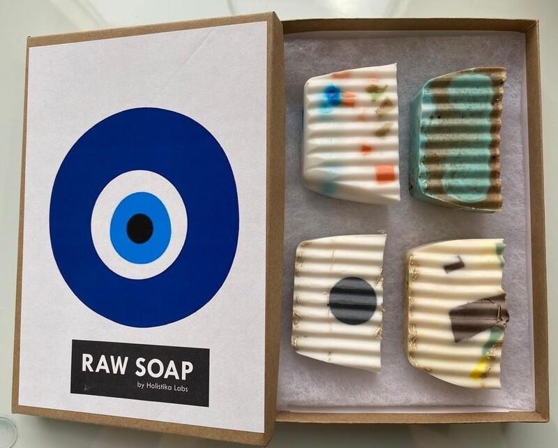 RAW Soap Holistika 'Evil Eye 1'