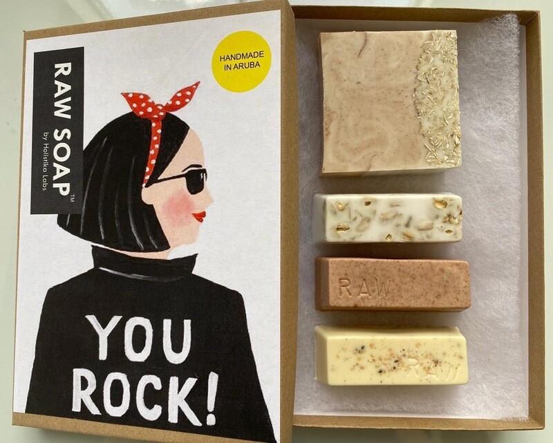 RAW Soap Holistika 'You Rock'