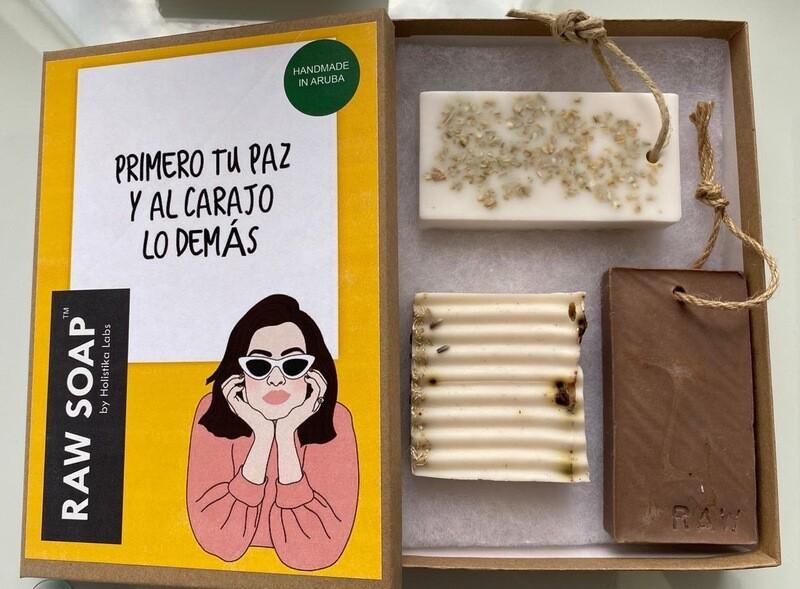 RAW Soap Holistika 'Primero Tu Paz Y Al Carajo Lo Demas 1'