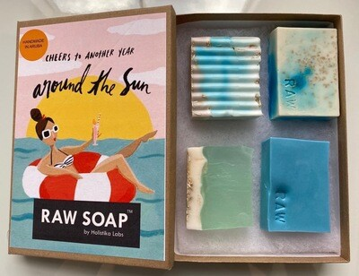 RAW Soap Holistika 'Cheers To Another Year Around The Sun 2'