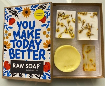 RAW Soap Holistika 'You Make Today Better'