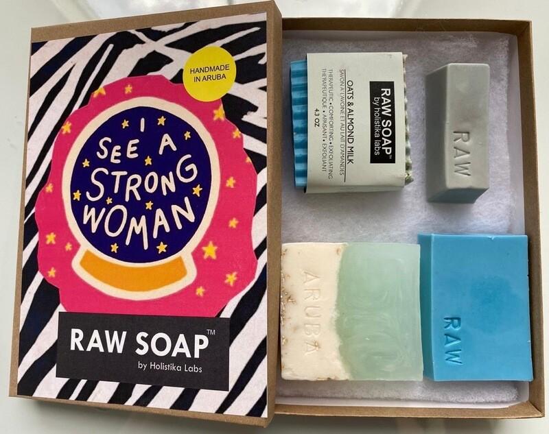 RAW Soap Holistika 'I See A Strong Woman 1'