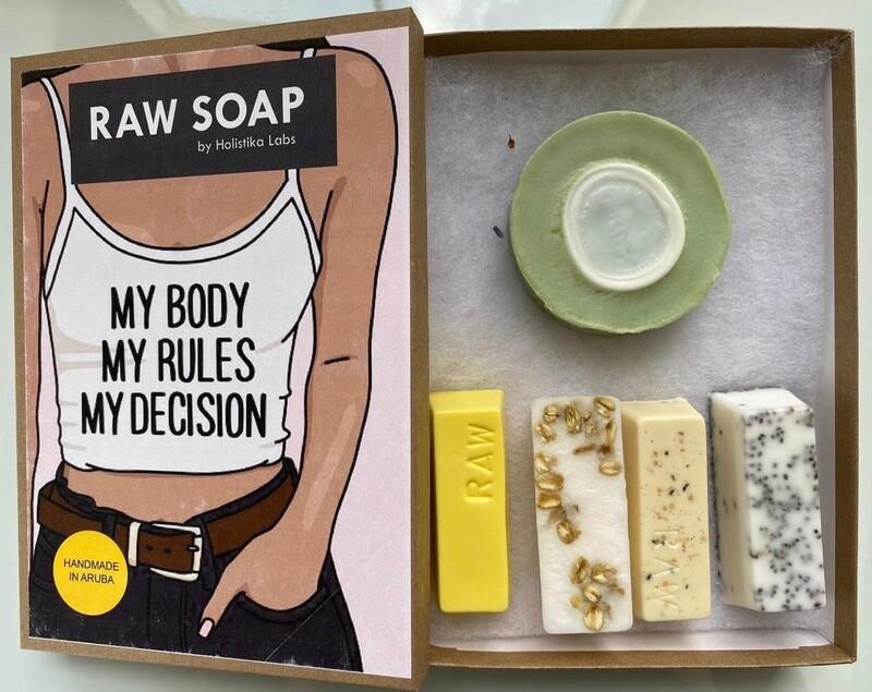 RAW Soap Holistika 'My Body My Rules My Decision 1'
