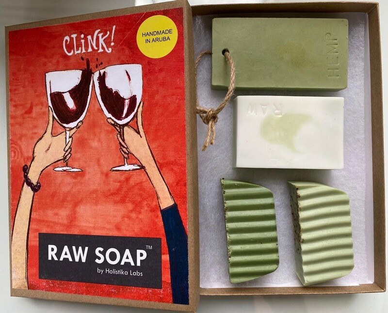 RAW Soap Holistika 'Clink!'