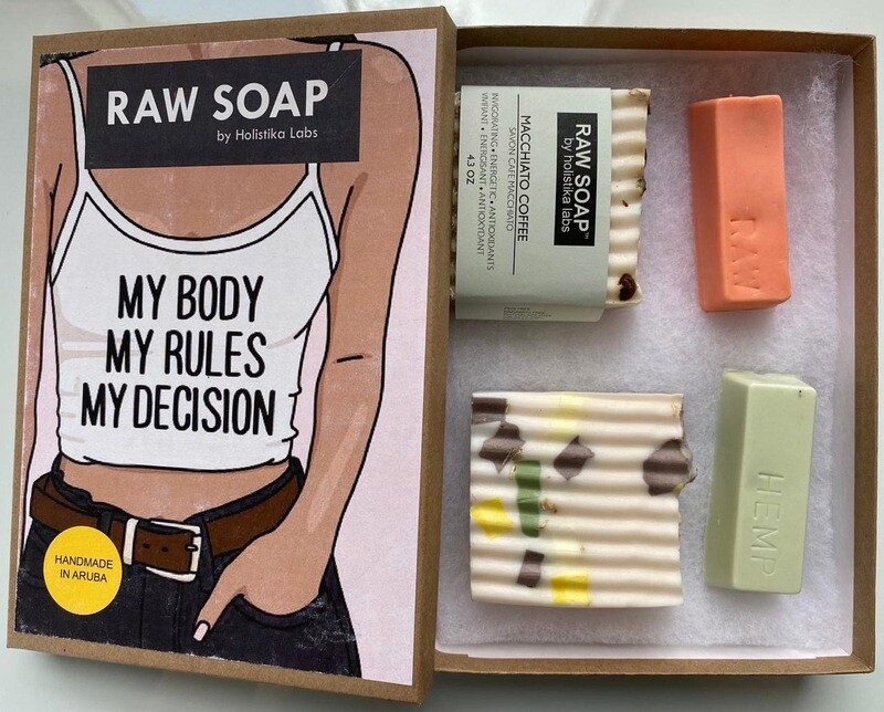 RAW Soap Holistika 'My Body My Rules My Decision 2'