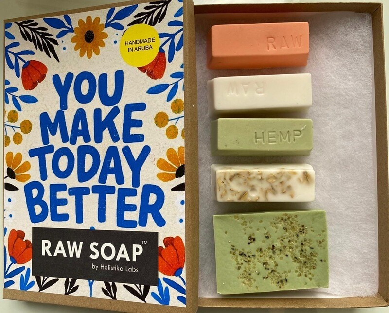 RAW Soap Holistika 'You Make Today Better'