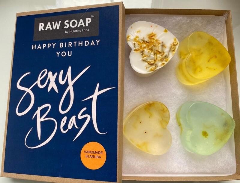 RAW Soap Holistika 'Happy Birthday To You Sexy Beast 1'