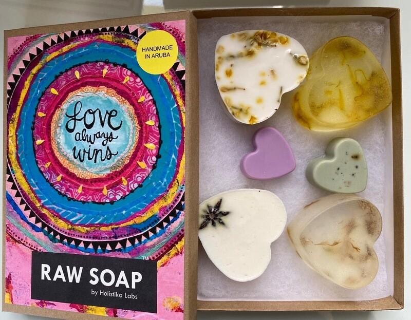RAW Soap Holistika 'Love Always Wins'