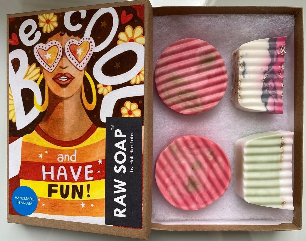 RAW Soap Holistika 'Be Cool And Have Fun!'