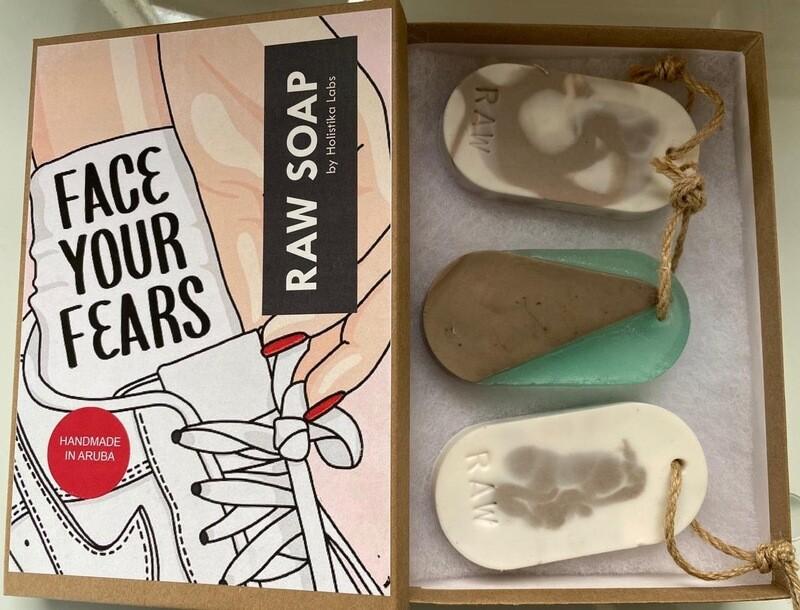 RAW Soap Holistika 'Face Your Fears 2'