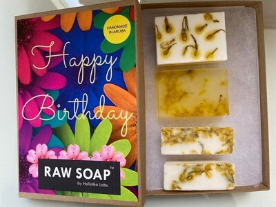 RAW Soap Holistika 'Happy Birthday'