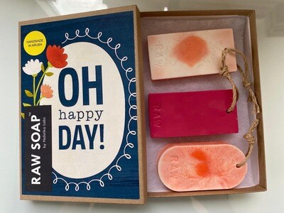 RAW Soap Holistika 'Oh Happy Day!'