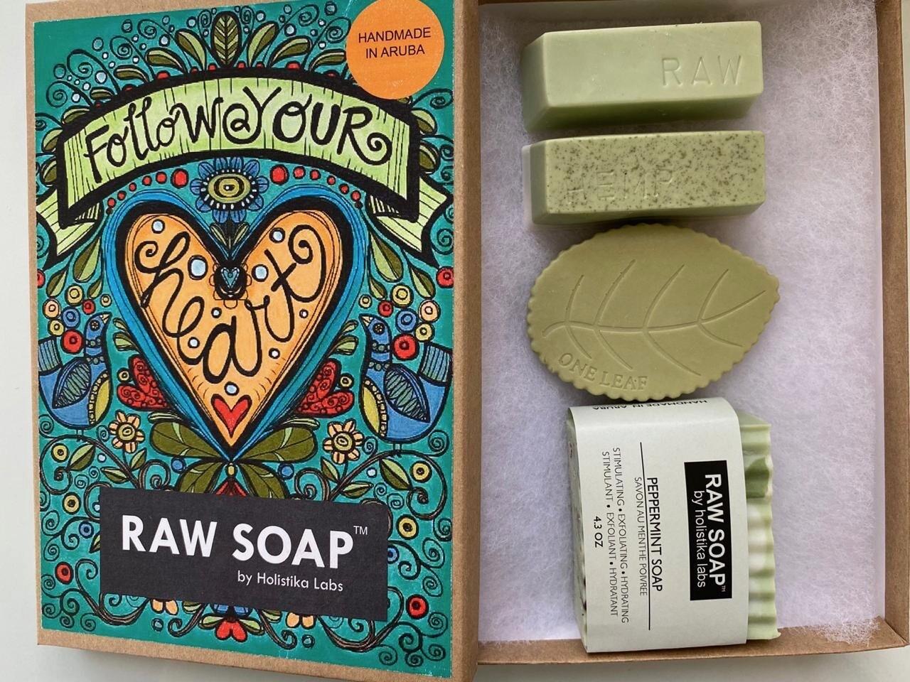 RAW Soap Holistika 'Follow Your Heart'