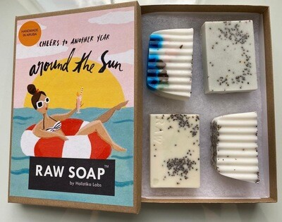 RAW Soap Holistika 'Cheers To Another Year Around The Sun 1'