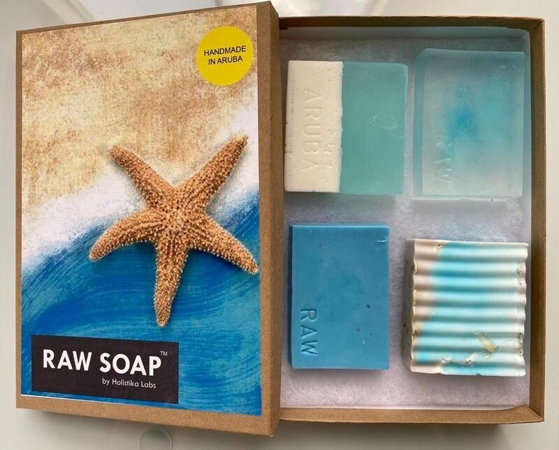 RAW Soap Holistika 'Starfish'