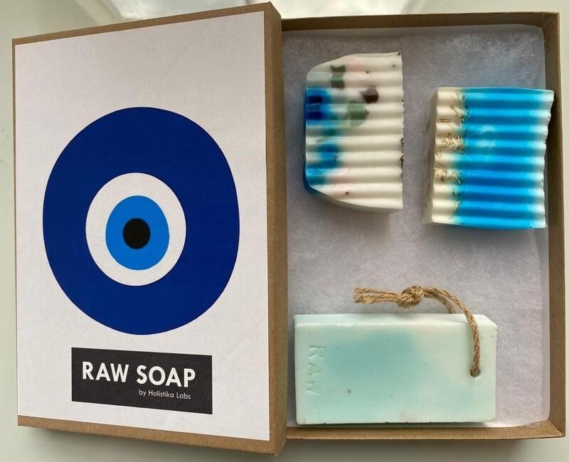 RAW Soap Holistika 'Evil Eye 2'