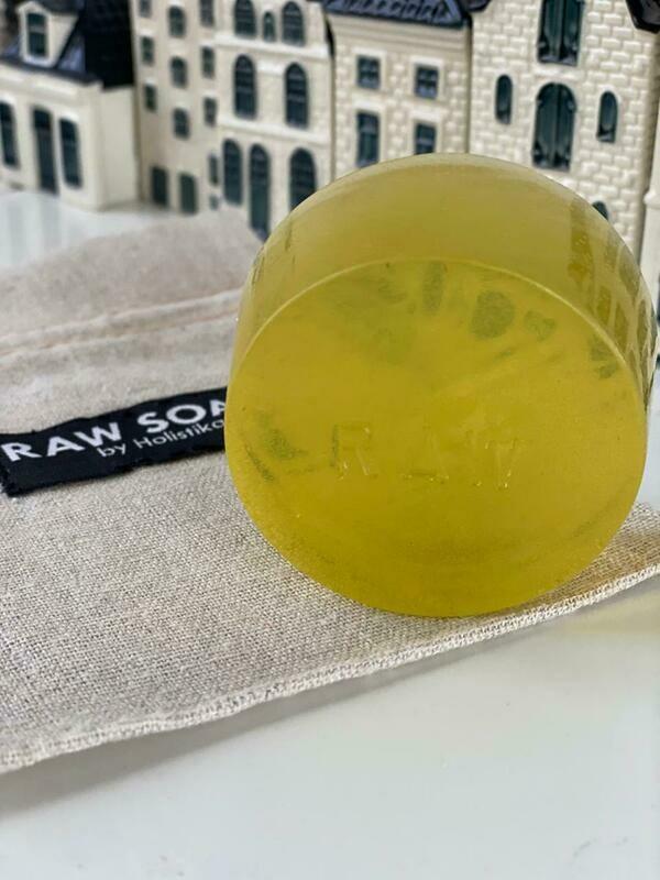 Raw Soap Holistika Hemp Individual Soap Bar