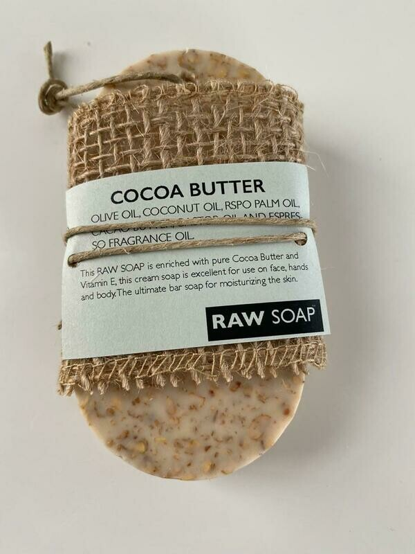 Raw Soap Holistika Cocoa Butter Individual Soap Bar