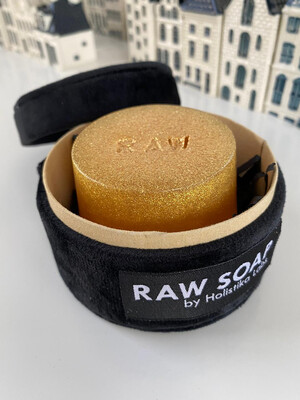 Raw Soap Holistika 14 Karat Gold Individual Soap Bar