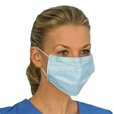 Disposable Face Masks - Box 50ct