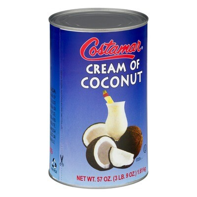Cream of Coconut Concentrate - 24 x 15oz