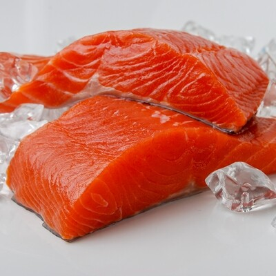 Fresh/Frozen US Wildcaught Salmon 6oz fillet Triar