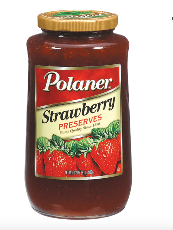 Strawberry preserves Polaner - 6 x 4 lb