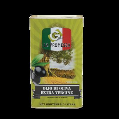Extra virgin olive oil - 4 x 3 L