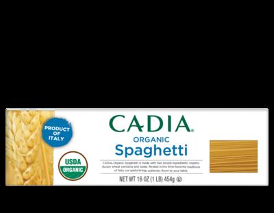 CADIA Organic Spaghetti - 12 x 16 oz