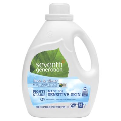 Seventh Generation Laundry detergent - 100 oz