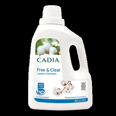 CADIA Laundry Detergent Liquid - 4 x 100 oz