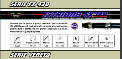 Canna Istriana  FX  430