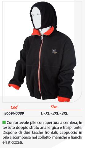 giacca tecnica milo