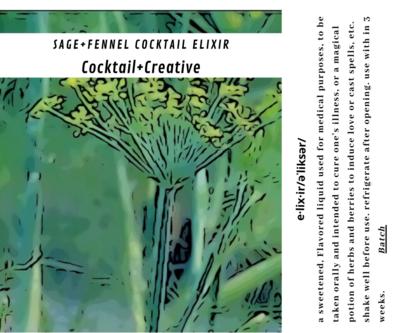 Fennel+Sage Cocktail Elixir