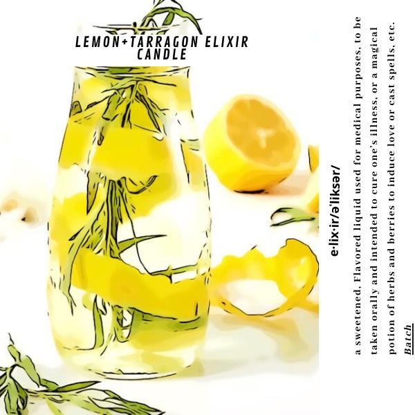 Lemon+Tarragon Candle